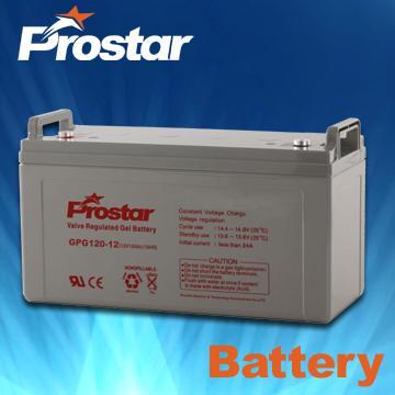 prostar gel battery 12v 120ah 99898468. Black Bedroom Furniture Sets. Home Design Ideas
