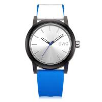 Buy cheap Casual Quartz Analog Silicone Stainless Steel Dial Sports Wristwatch Multi - Color product