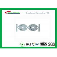 China HASL  LED PCB Board Design Aluminum Base material 1.6mm White round circuit board on sale