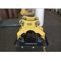 Buy cheap Kubota Hydraulic Plate Compactor Four Dampers Concrete Pavement Fit 4-9Ton Excavator product