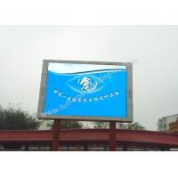 China Die casting rgb led screen , p10 outdoor full color led display with fast locks wholesale