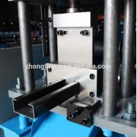 Buy cheap PLC Control Door Frame Roll Forming Machine / CZ Purlin Machine For Building product