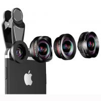 Buy cheap 4 in 1 wide angle macro fisheye 2x zoom telephoto lens kit for universal smartphones product