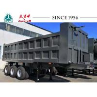 Buy cheap 30CBM Square Shape Tipper Trailer, Dump Trailer To Transport Sand,Stone from wholesalers