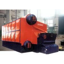 caldera de vapor de la eficacia alta de la garantía de un año con los tubos espiral acanalados