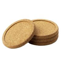 Buy cheap Good Quality Customized Blank bulk cork coasters make in China product