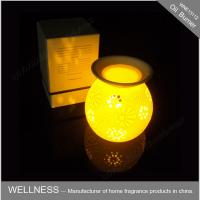 China Classic Electric Oil Burner With Light , Christmas Gift  Perfume Oil Lamp Burners on sale