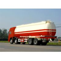 Buy cheap China carbon steel oil storage tank 45000Liters 3 axles oil tanker semi trailer product