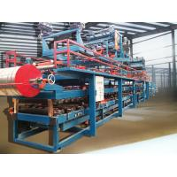 Buy cheap Colored Steel Foamed Sandwich Panel Roll Forming Machine Hydraulic Cutting from wholesalers