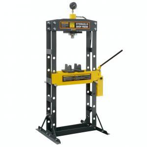 Buy cheap Heavy Duty Industrial Gauge Hydraulic Shop Press 30 Ton Powder Coating product