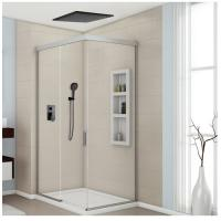 8-12 Inch Concealed Shower Faucet , Solid Brass Ceiling Shower Faucet Three Modes