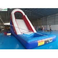 Buy cheap Back Load US Commercial Inflatable Water Slides For Kids / Children product