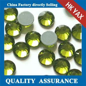 Buy cheap 0527C Good quality peridot DMC hotfix rhinestone, DMC iron on rhinestone, DMC crystal rhinestone product