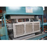 China Small Paper Pulp Molding Machine , Small Paper Egg Tray Machine on sale