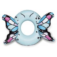 Buy cheap Customized Blue Butterfly Wings Pool Float , Adult Pool Tube With Patch Kit from wholesalers