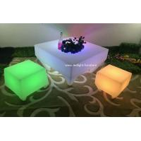 Unique Design RGB Outdoor LED Party Furniture Brightness With Remote Control