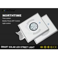 Buy cheap Warm White All In One Solar Street Light Auto - Sensing Power Battery product