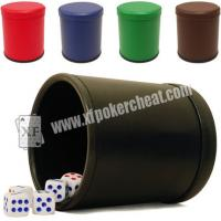 Buy cheap Red Casino Dice Scanner To See Through The Dice Cup / Dice Magic Device product
