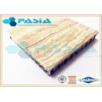 Buy cheap Interior Wall Design Lightweight Cladding Panels , Travertine Composite Stone Panels product