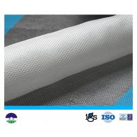 Quality PET/PP  White Multifilament Woven Geotextile 180kN for sale
