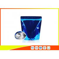 Buy cheap Food Grade Tea Packaging Bags , Laminated Moisure Proof Foil Coffee Bags With Zipper from wholesalers