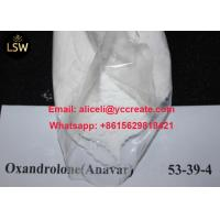 Buy cheap High Purity White Raw Powder Oral Anabolic Steroids Oxandrolone Anavar CAS 53 39 from wholesalers
