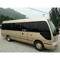 Buy cheap 2010 Used Toyota Coaster Bus 23 Seats / Used Diesel Buses Automatic Door product