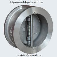 Buy cheap WAFER DOUBLE DISC CHECK VALVE product