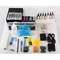 Buy cheap 4 Tattoo machine kits with Top quality LCD power supply product