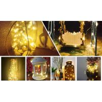 China 72 Feet 200 LEDs Copper Wire String Lights IP65 Protection For Garden on sale