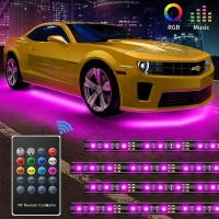 Buy cheap 30w 12v RGB 5050SMD Car Underglow Lights Remote Control product