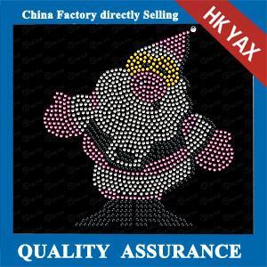 China rhinestone hot fix motif design,rhinestone hot fix motif design for garment on sale