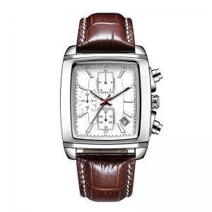 Buy cheap Men's Leather Strap Dial Alloy Quartz Wrist Watches product