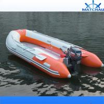 Внешней быстроходный катер защиты от наводнений двигателя надутый резиной