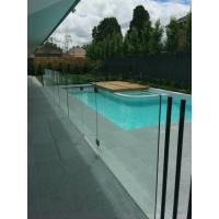 Buy cheap Frameless glass pool fence with stainless steel accessories product
