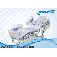 Buy cheap Height Adjustable ICU Hospital Bed , Multifunction Medical Disabled Bed product