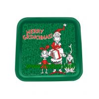 China square tin tray christmas tin trays promotional metal tin serving trays on sale