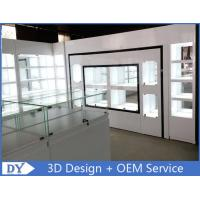 Lacquer Finished Store Jewelry Display Cases / Jewellery Shop Display Counters