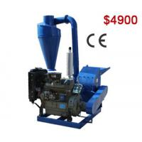 Buy cheap AZS500A Small Diesel Hammer Mill Ideal for Pellet Making product