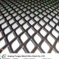 Buy cheap Expanded Metal Grid|Flattened Expanded Mesh Customized Size by Stainless Steel or Aluminum product