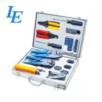 Buy cheap LE-K4015 Network Wiring Tools Kit Set Of Crimp Punch Strip Cut Tool Tester product