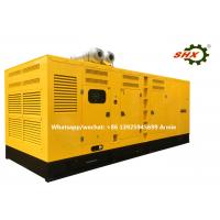 Buy cheap Electric  Cummins Container Type Generator For Construction , Heavy Duty Power Generator product