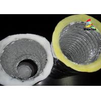 China Air Conditioning Fiberglass Flame retardant Aluminum Insulated Flexible Ducts wholesale