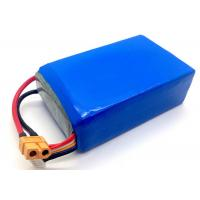 10C 22.2 V Rc Helicopter Lipo Battery 10000mAh , 6 Cell Li Polymer Rechargeable