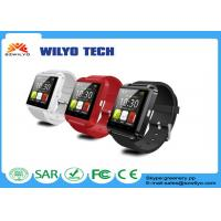 Buy cheap Black U8 Wrist Watch Bluetooth Mate For Android IOS Samsung Mp3 Wristband product