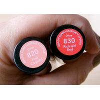 China Coated Paper Cosmetic Sticker Labels Anti Tear Off For Lipstick Tube on sale