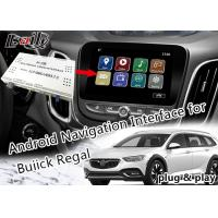 Buy cheap Android 6.0 GPS Navigation Box Video Interface for Buick Regal LaCCrosse Verano with Netwok Yandex live Navigation from wholesalers