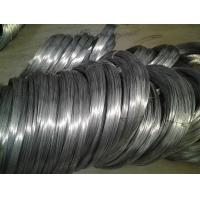 Buy cheap High Carbon Spring Steel Wire Black Oiled or Galvanized 1 . 2 mm And 2mm Flexible Duct product