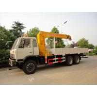 Buy cheap dongfeng 6*4 12ton cargo truck with crane for sales, hot sale 210hp dongfeng from wholesalers
