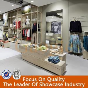 Buy cheap 良質の衣服店の設計/女性衣服店のカウンターのテーブルの設計 product
